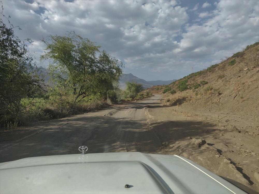 Drive to Lalibela