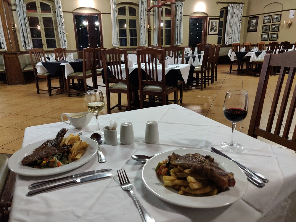 Waterberg german restaurant Namibia