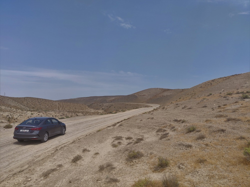Azerbaijan unpaved roads
